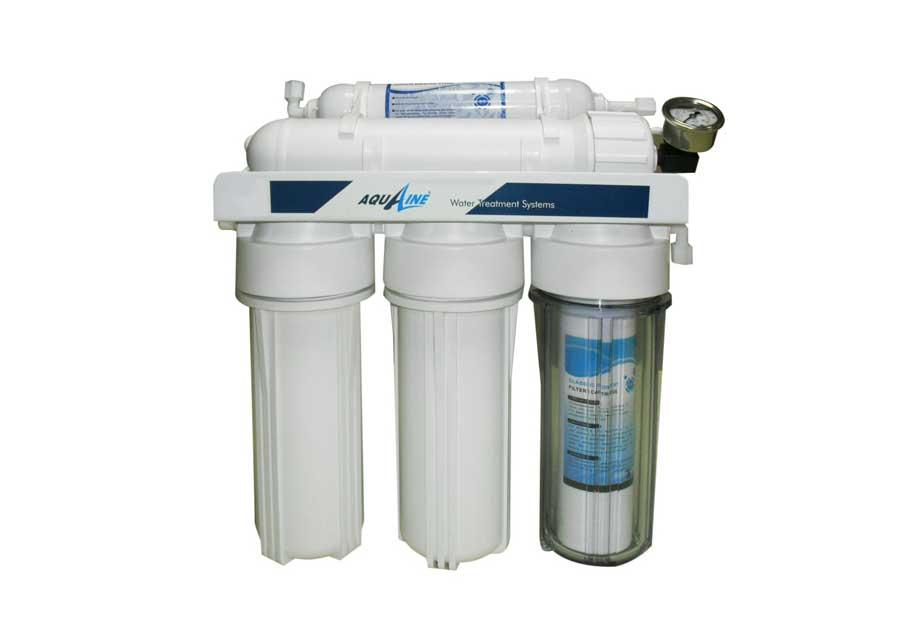 5T-75 WOP Pompasız Manometreli Tezgahaltı RO Sistemi