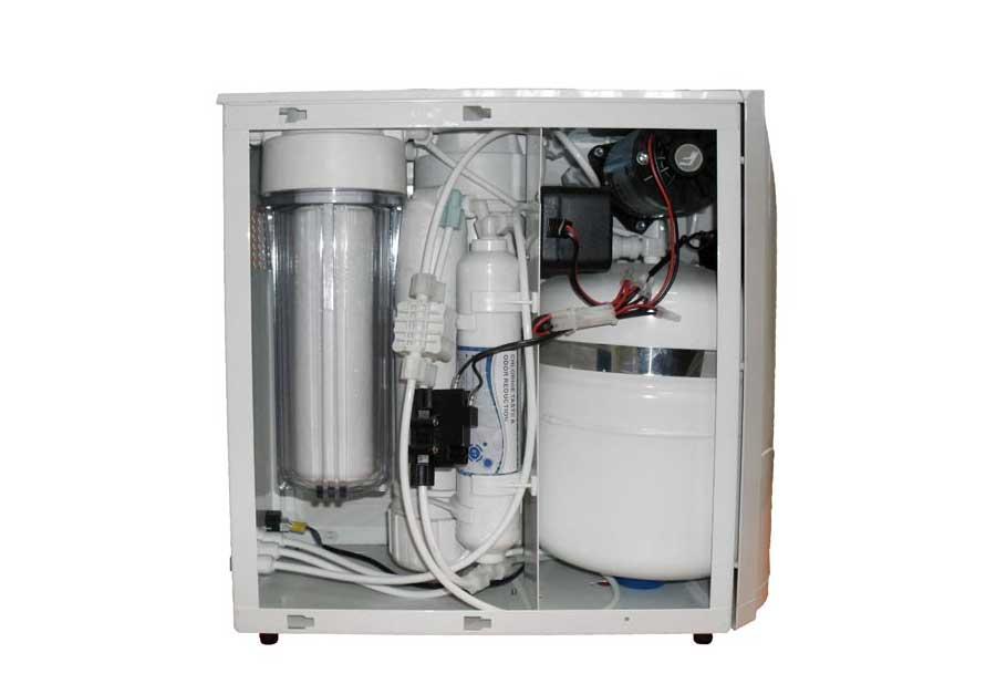 CE-75 WP 1.8Tİ Pompalı Kabinli Tezgahaltı RO Sistemi