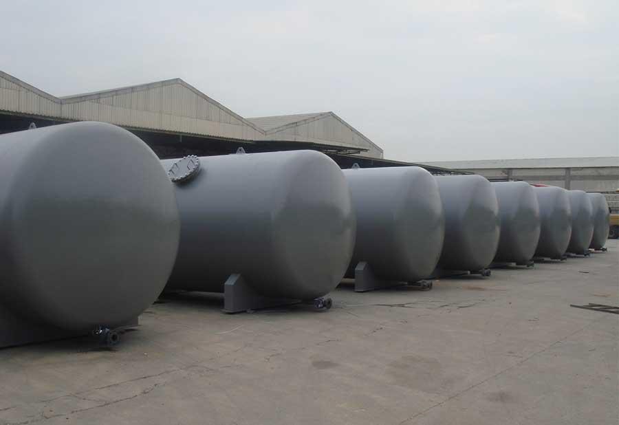 Epoxy Boyalı Paslanmaz Çelik Tanklar